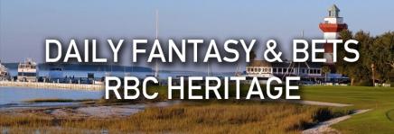RBC Heritage Draftkings Picks andBets