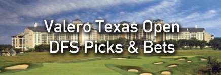 Valero Texas Open Draftkings Picks & Bets