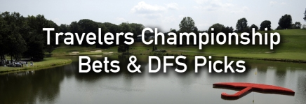 Travelers Championship Podcast, Draftkings Picks, and Bets
