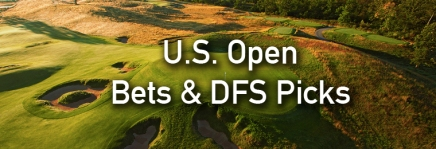 U.S. Open Podcast, Draftkings Picks, and Bets