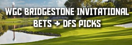 WGC Bridgestone Invitational Podcast, Draftkings Picks, andBets