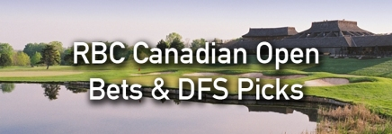 RBC Canadian Open Podcast, Draftkings Picks, and Bets