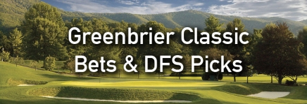 Greenbrier Classic Podcast, Draftkings Picks, and Bets
