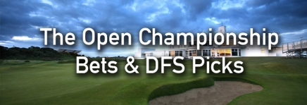 The Open Championship Podcast, Draftkings Picks, and Bets