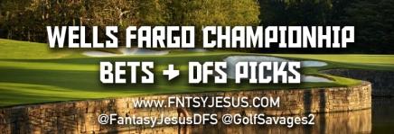 Wells Fargo Championship Draftkings Picks &Bets