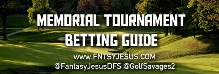 Memorial Tournament BettingGuide