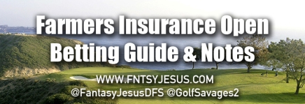 Farmers Insurance Open – Podcast, Betting Guide, & DFS Notes