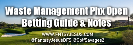 Waste Management Phoenix Open – Podcast, Betting Guide, & DFS Notes